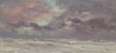 Neil Tyler (British 1945-): 'Sea and Sky Sketch'