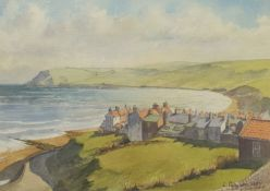 Les Pearson (British 1923-2010): 'Robin Hood's Bay'