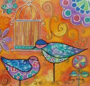 Penny Wicks (British 1949-): 'Birds of a Feather'