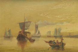 W A Turnbull (British 19th/20th century): Dutch Shipping