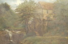 R R Pickford (British 19th century): Rigg Mill near Whitby