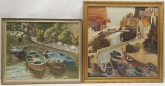 Fred G Wrigley (British 20th century): 'Staithes Beck'