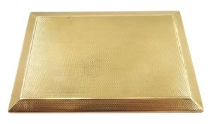 Early 20th century 9ct gold cigarette case