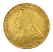 Queen Victoria 1900 gold full sovereign