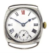 Rolex early 20th century silver manual wind lever wristwatch