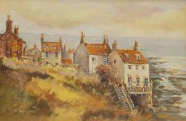 Michelle Saunders (British 1963-): Robin Hood's Bay