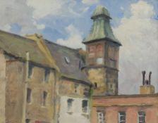Neil Tyler (British 1945-): 'Old St Ninian's Chapel Leith'