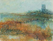 Madeleine Eyland (Belgian/British 1930-2021): 'Marshland'