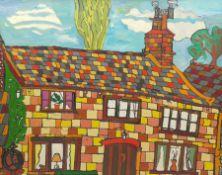 Adam Raven (British 1952-2006): Suburbia