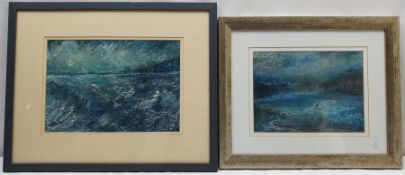 Madeleine Eyland (Belgian/British 1930-2021): Coastal Landscapes
