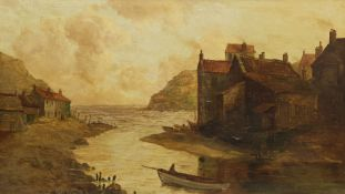 English School (19th century): Staithes Beck