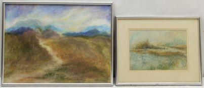 Madeleine Eyland (Belgian/British 1930-2021): Misty Landscapes