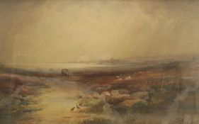 Frederick William Booty (British 1840-1924): Scarborough from Hay Brow