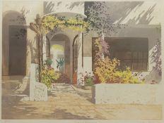 Simon Bull (British 1958-): 'Sunlit Doorway I'