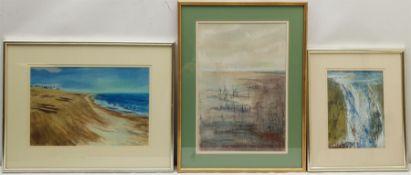 Madeleine Eyland (Belgian/British 1930-2021): 'Suffolk Coast'