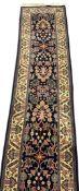 Persian design runner rug