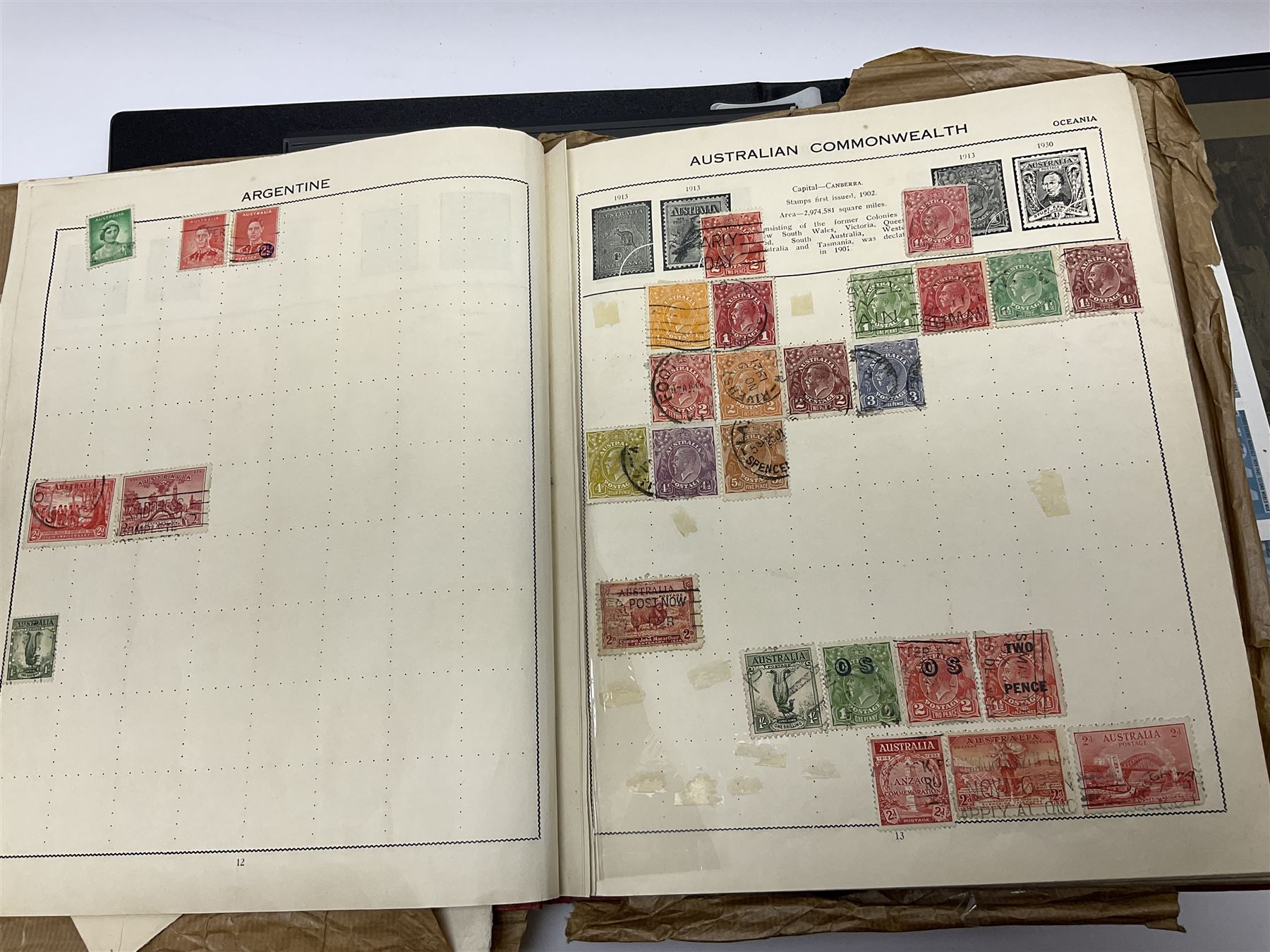Great British and World stamps including Australia - Image 11 of 19