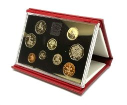 United Kingdom 1992 proof coin collection