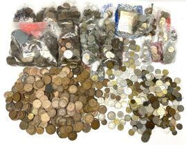 Great British pre-decimal coins including pennies