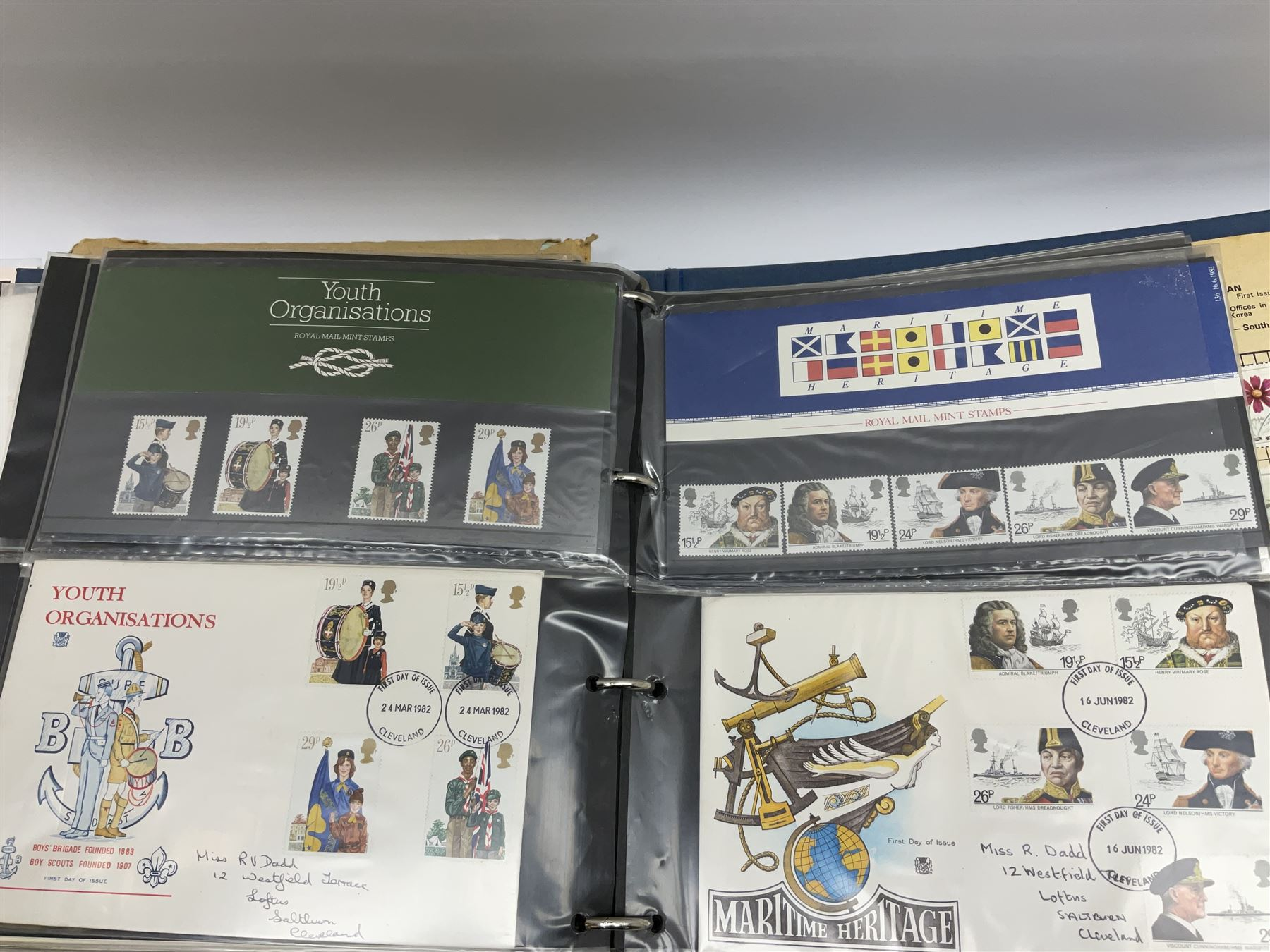 Great British and World stamps in albums and loose including Canada - Image 6 of 7