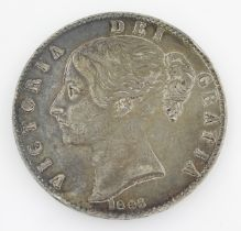 Queen Victoria 1845 crown coin