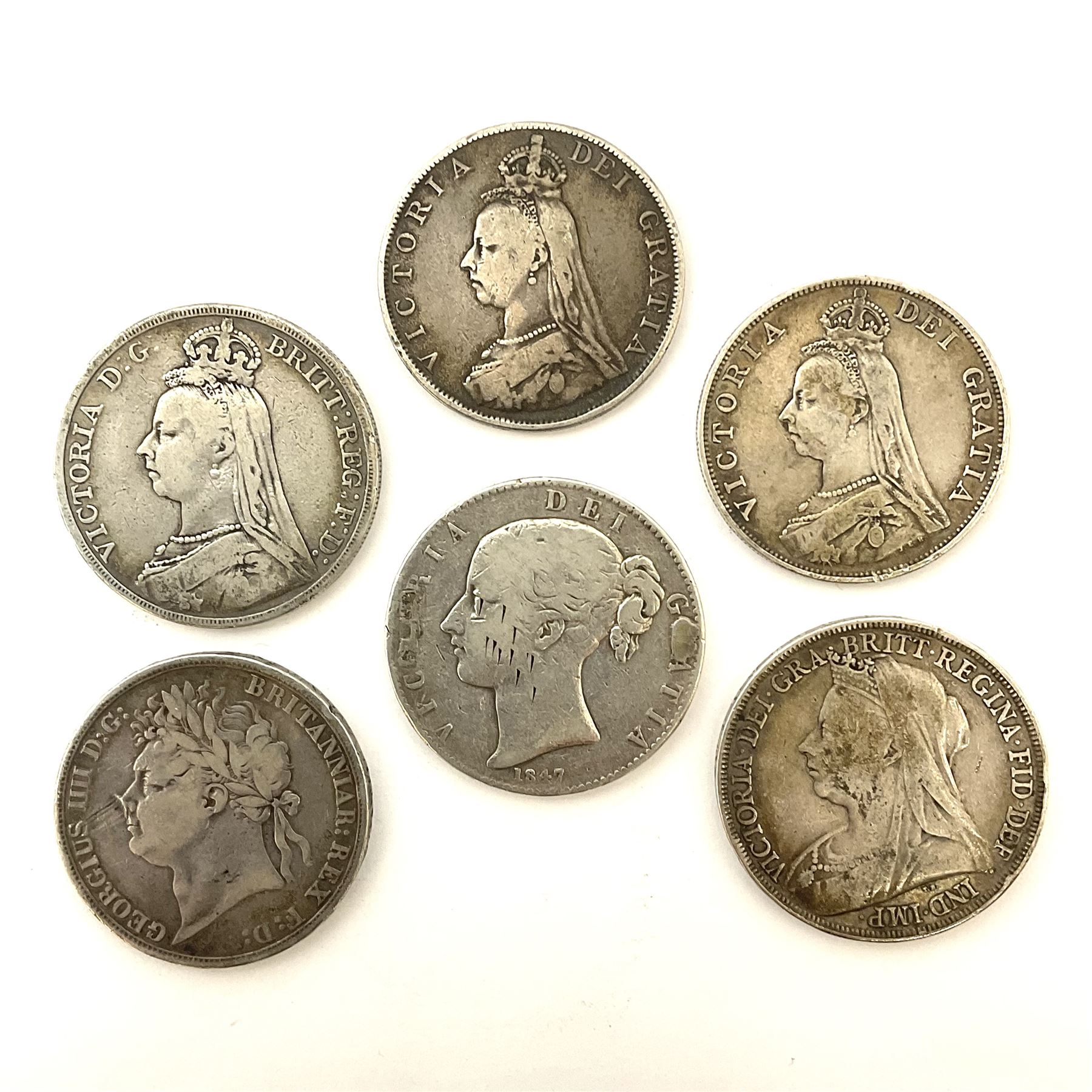 King George IV 1821 crown coin - Image 2 of 4