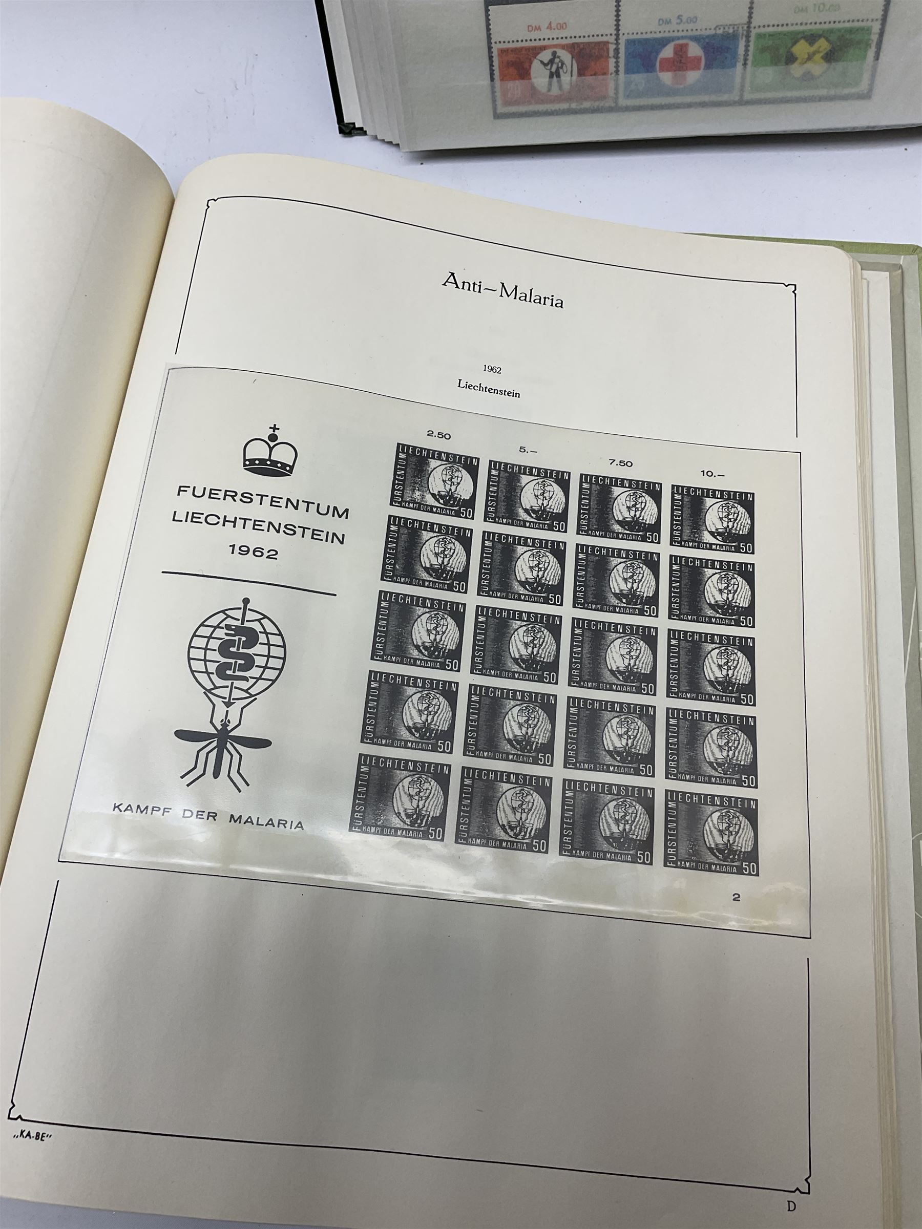 Stamps mostly relating to 'The World Against Malaria' from various Countries including Angola - Image 12 of 17