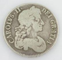 King Charles II 1679 crown coin