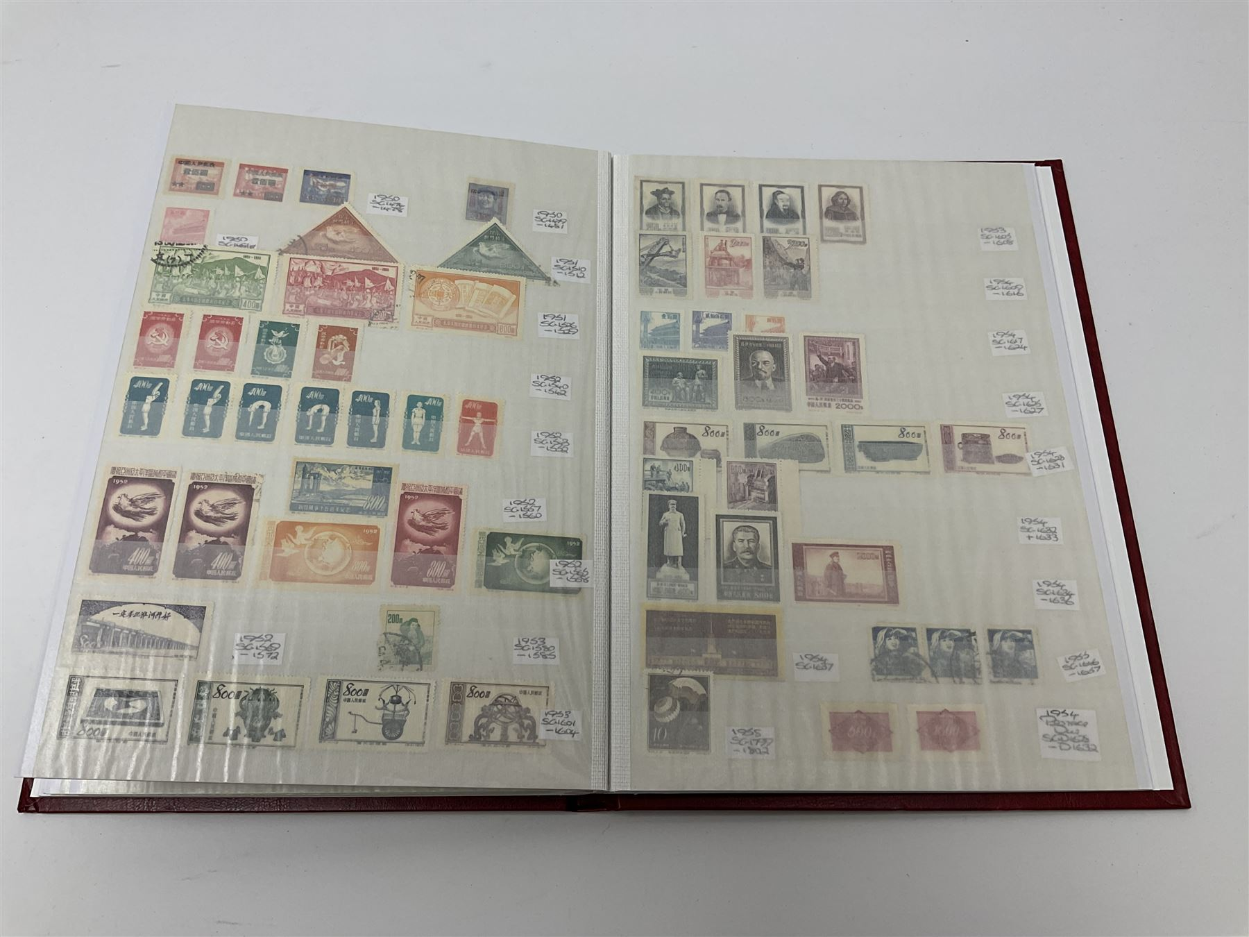 Mostly Chinese stamps in one stockbook - Image 7 of 7