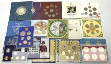 United Kingdom brilliant uncirculated coin collections dated 1987