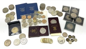 Mostly Great British coins including King George V 1935 crown