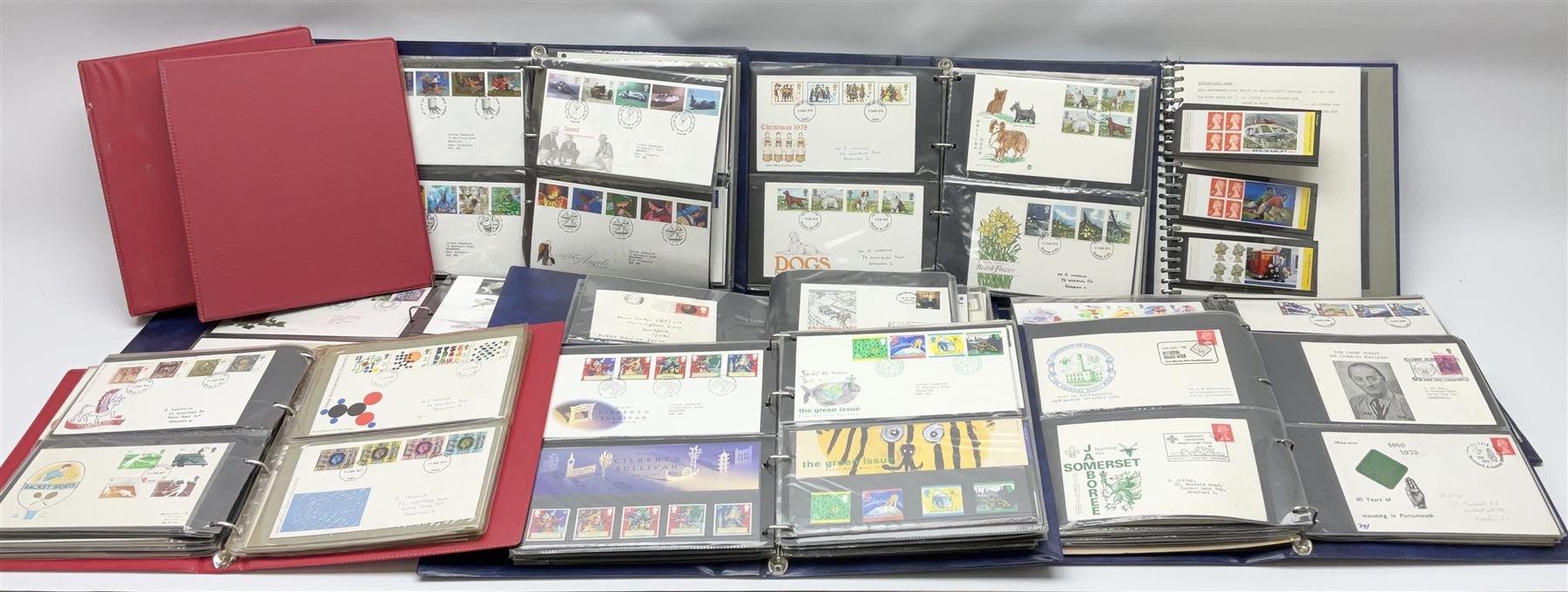 Mostly Great British first day covers