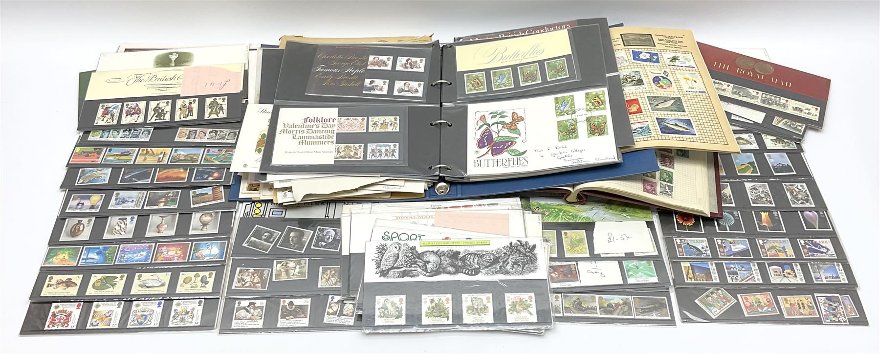 Great British and World stamps in albums and loose including Canada