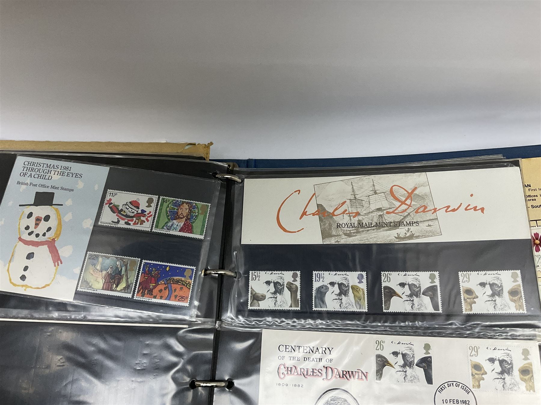 Great British and World stamps in albums and loose including Canada - Image 7 of 7