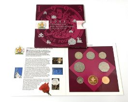 United Kingdom 1993 brilliant uncirculated coin collection