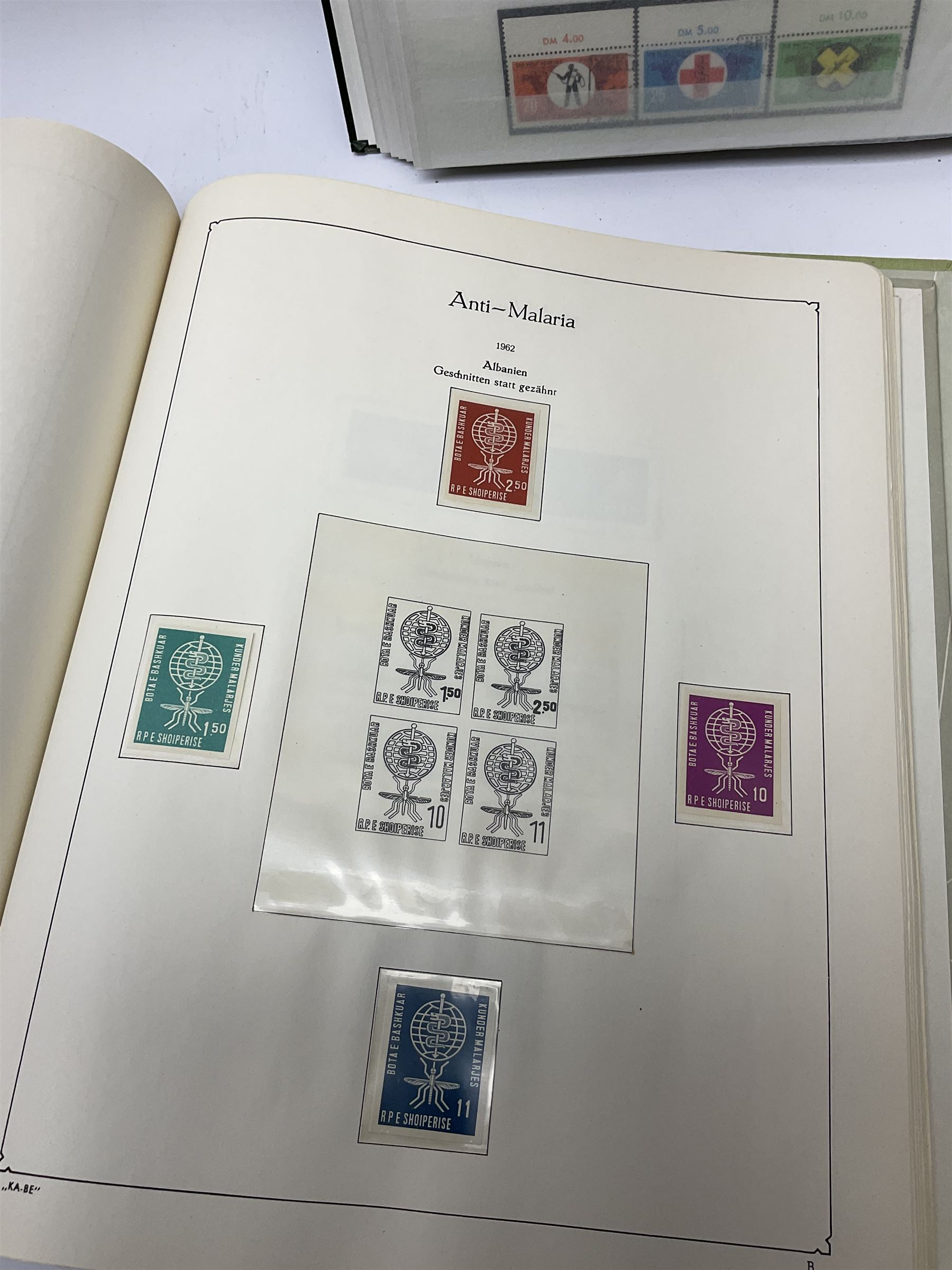 Stamps mostly relating to 'The World Against Malaria' from various Countries including Angola - Image 13 of 17