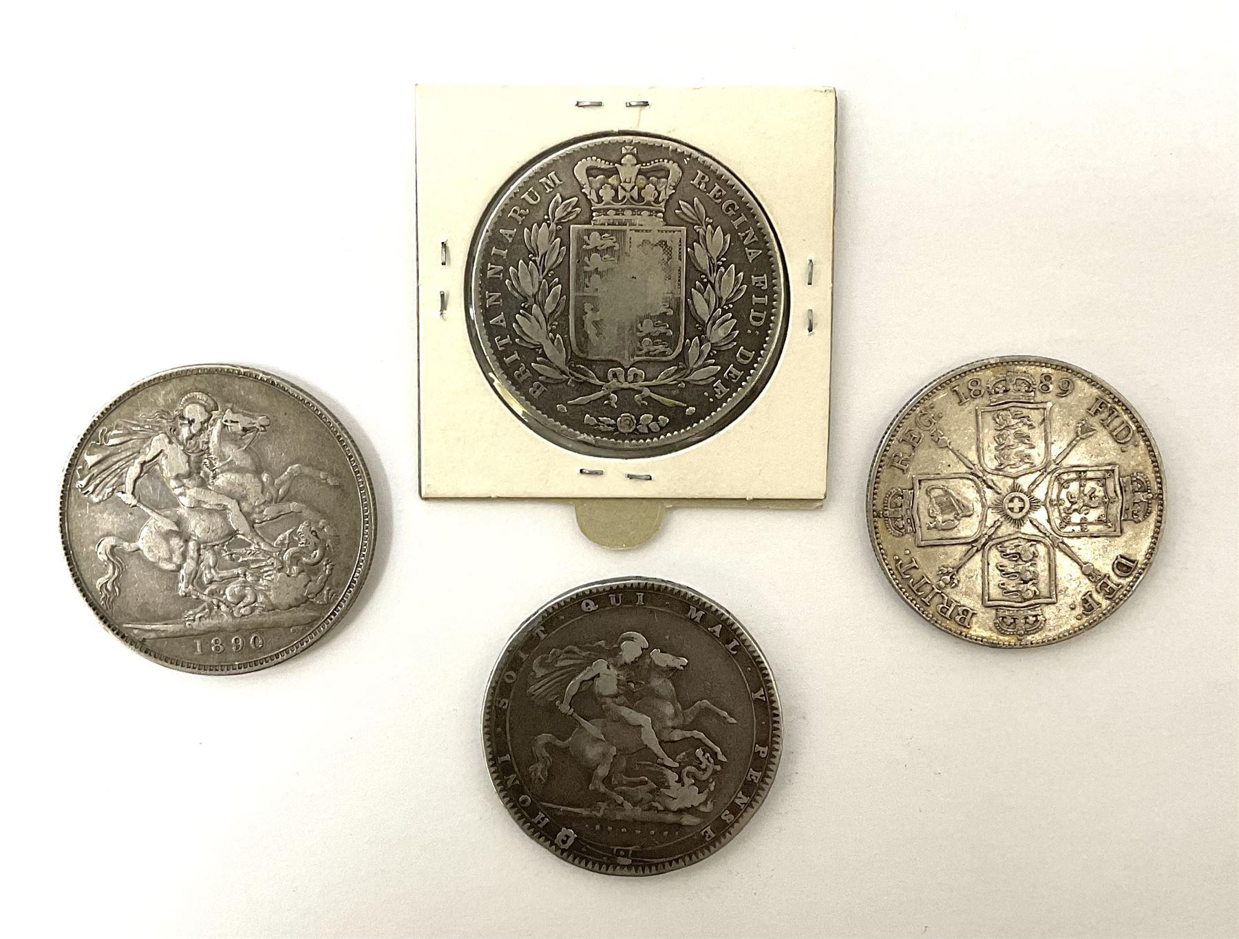 King George III 1920 crown - Image 3 of 4