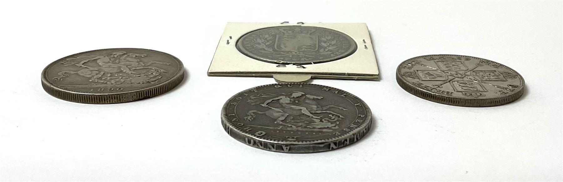 King George III 1920 crown - Image 4 of 4