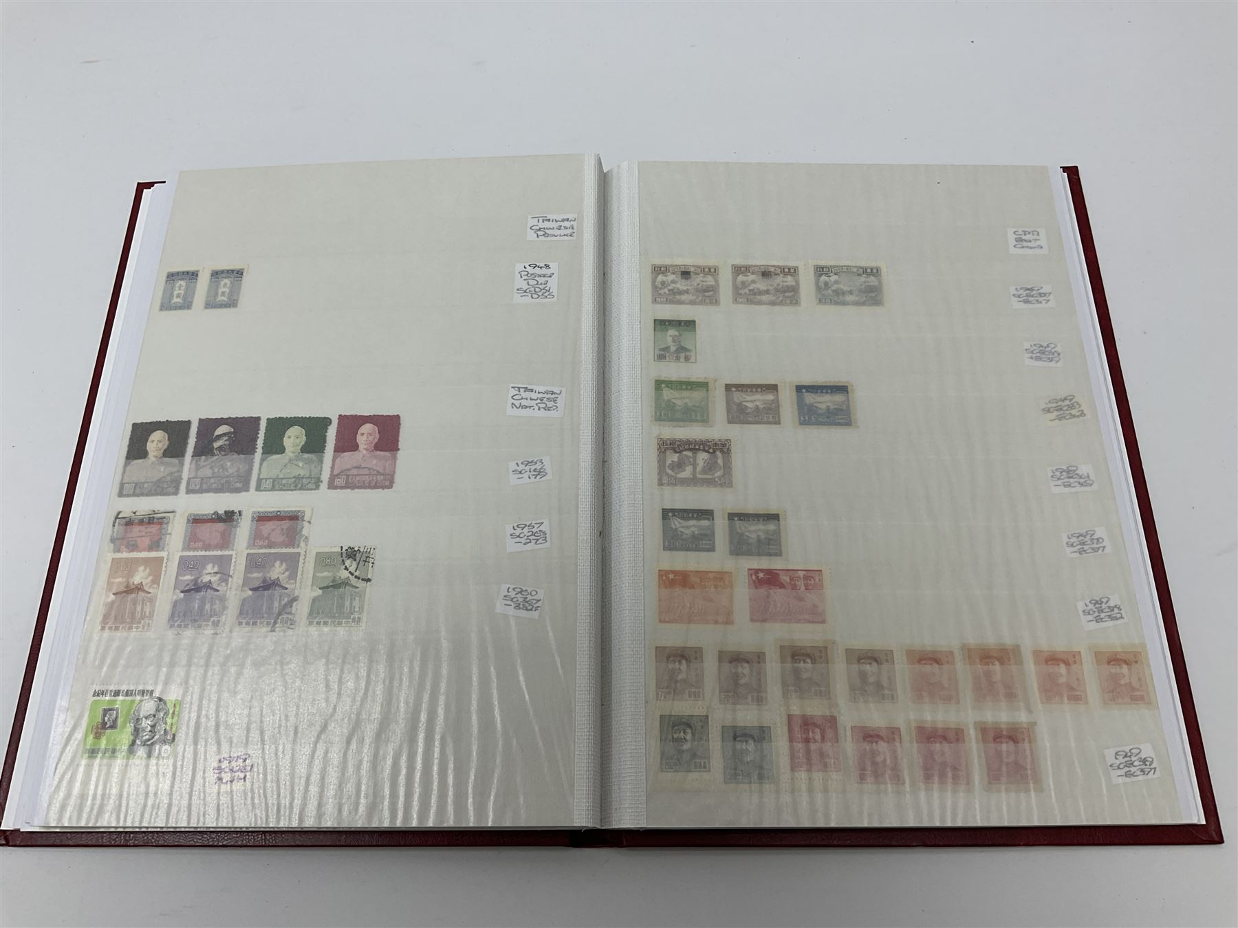 Mostly Chinese stamps in one stockbook - Image 6 of 7