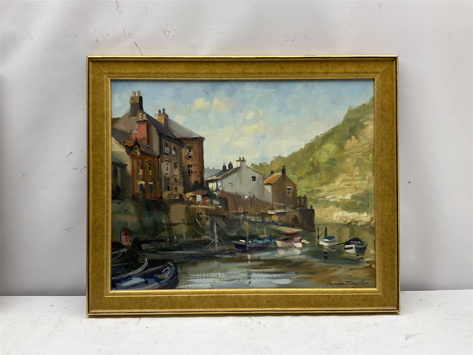 Ivan Taylor (British 1946-): Staithes Beck - Image 2 of 4