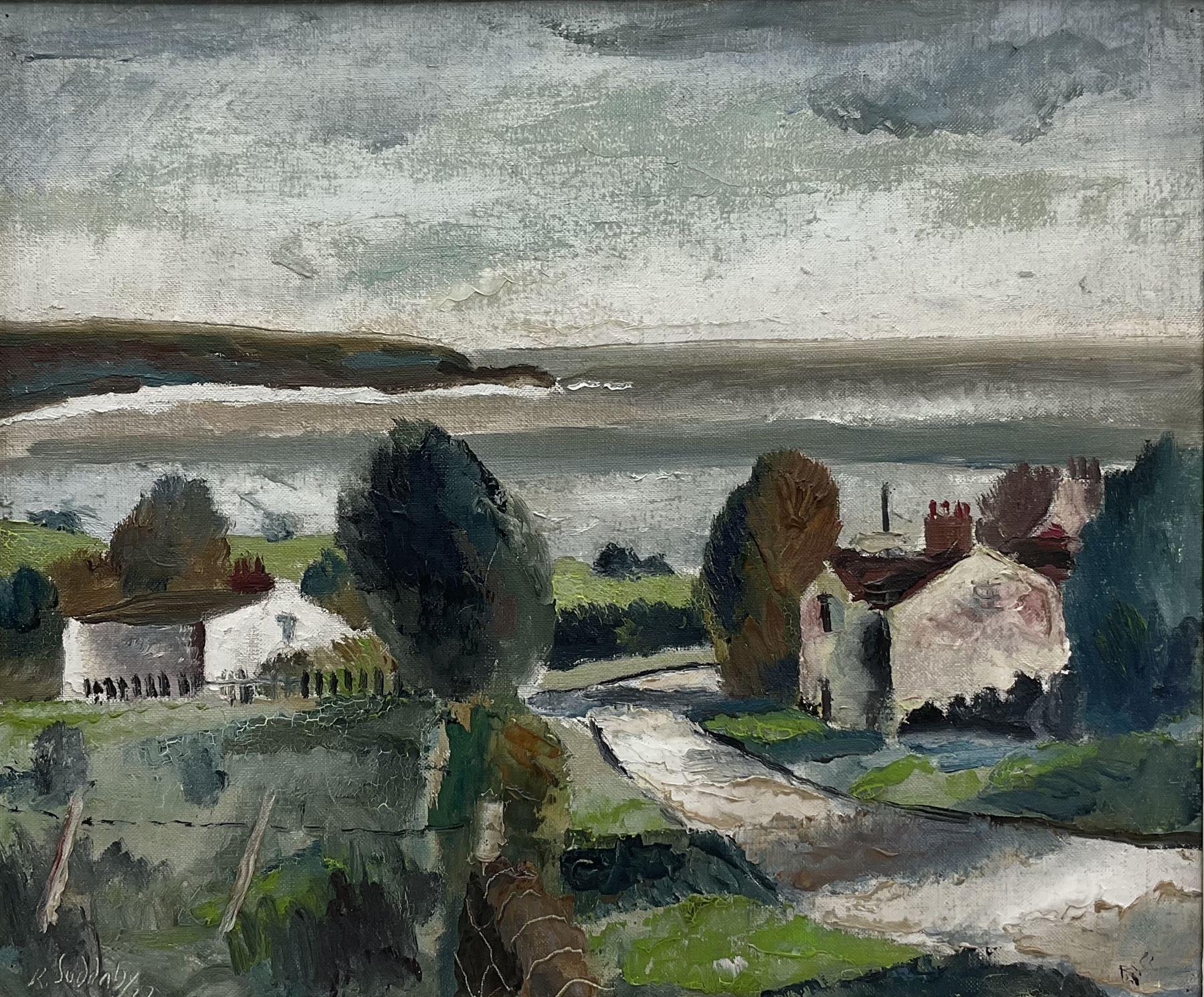 Rowland Suddaby (British 1912-1972): 'Coast near Whitby'