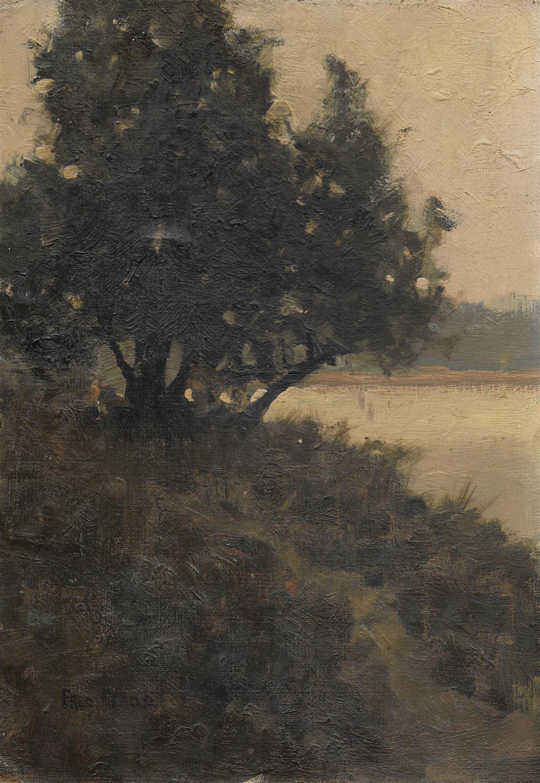 Frederick (Fred) Dade (British 1874-1908): Edge of the Lake
