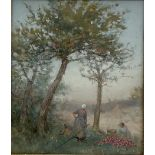 French School (Early 20th century): The Apple Harvest