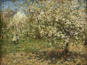 Frederic William Jackson (Staithes Group 1859-1918): 'Blossom' Hinderwell