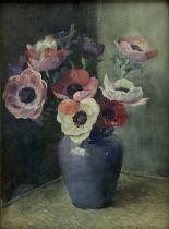 William Arthur Chase (British 1878-1944): Still Life of Anemones