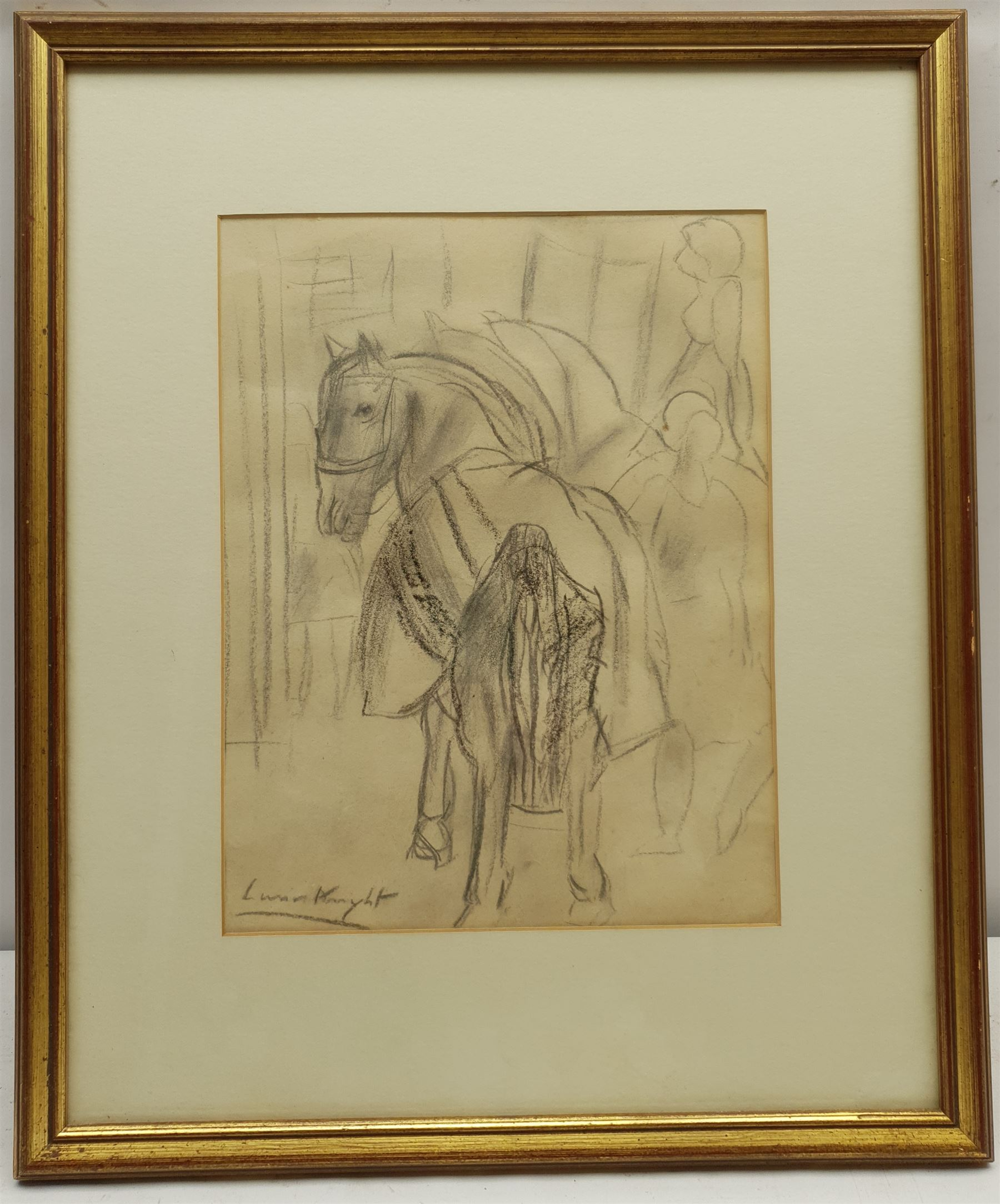 Dame Laura Knight RA (Staithes Group 1877-1970): Circus Horses - Image 2 of 4
