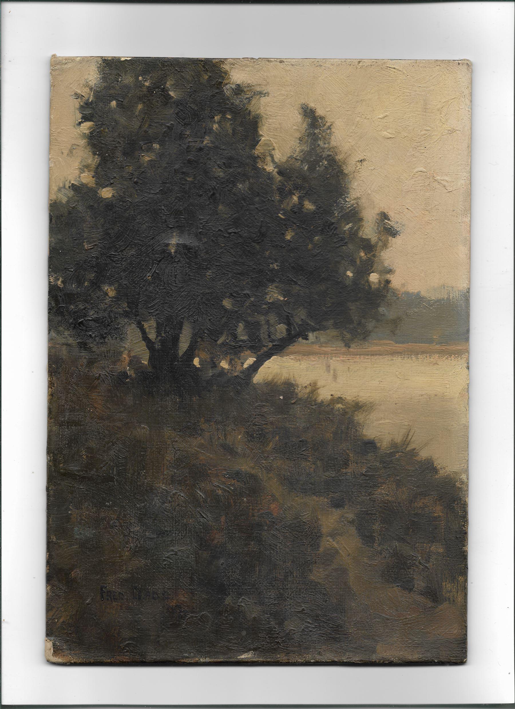 Frederick (Fred) Dade (British 1874-1908): Edge of the Lake - Image 2 of 4