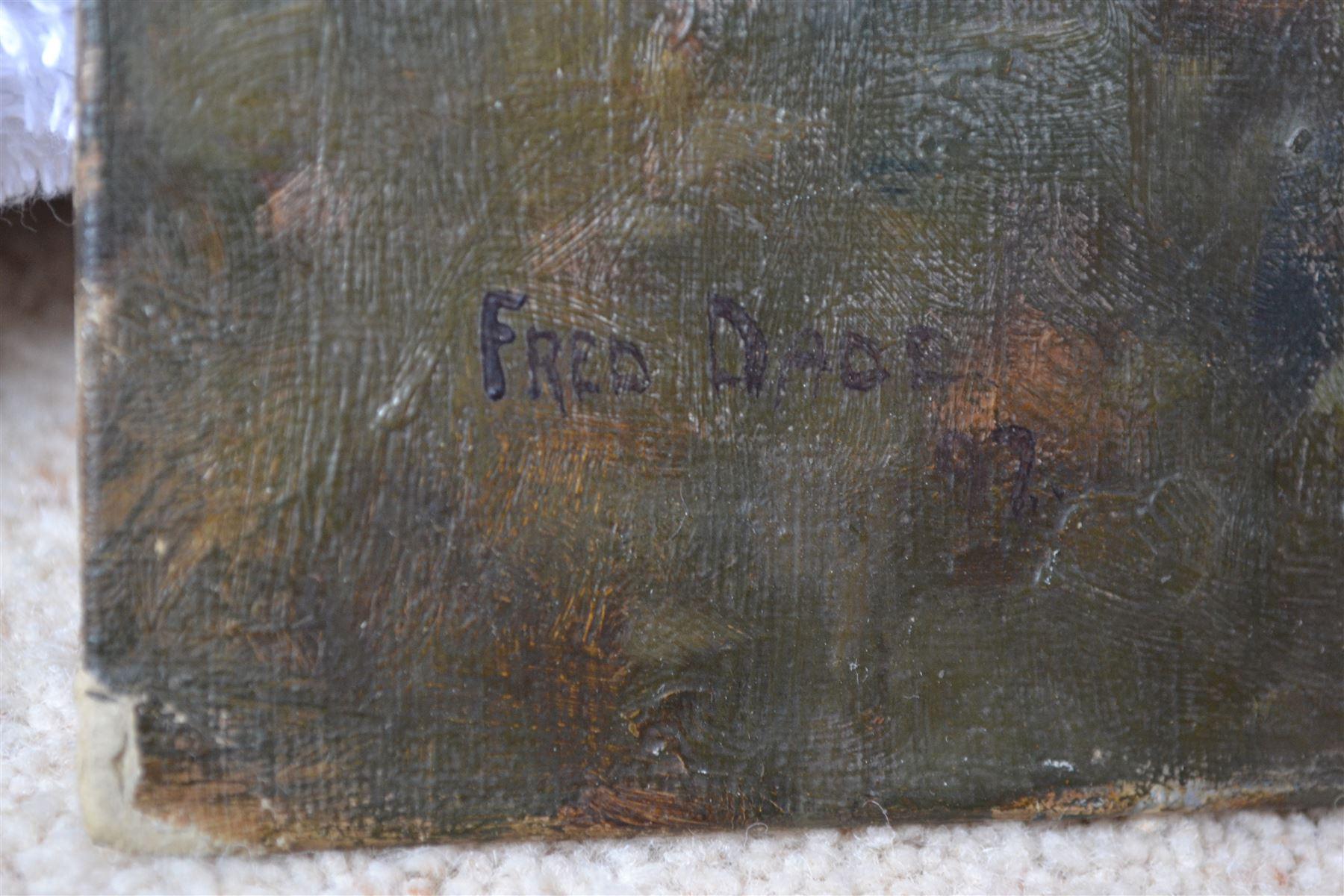 Frederick (Fred) Dade (British 1874-1908): Edge of the Lake - Image 3 of 4