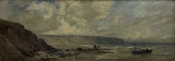 Owen Bowen (Staithes Group 1873-1967): Cobles at Filey