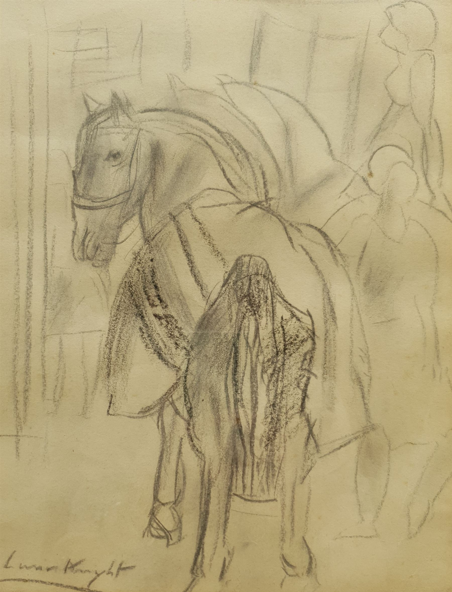 Dame Laura Knight RA (Staithes Group 1877-1970): Circus Horses